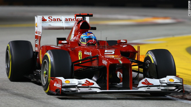 Ferrari's Fernando Alonso won back-to-back titles with McLaren in 2005 and 2006.