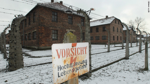 Johann Breyer admits to having worked as a guard at the notorious Auschwitz camp, pictured here on January 27, 2011.