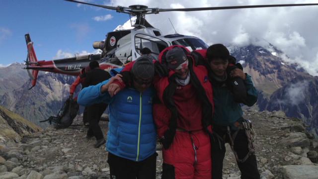 Avalanche survivor: It sounded like wind