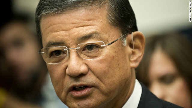 Veterans Affairs Secretary Eric Shinseki has set 125 days as a goal for processing veterans' disability claims.