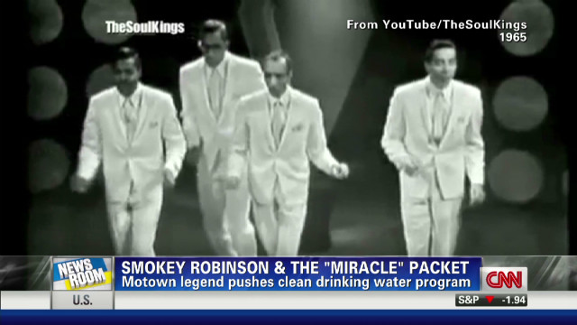 Smokey Robinson crusade for clean water