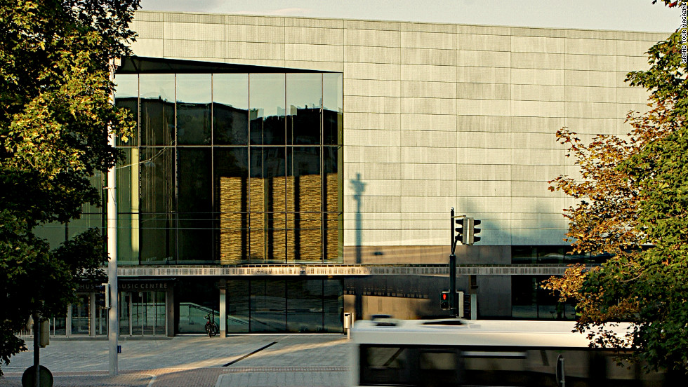 "The new concert venue and music academy sits close to three of Helsinki's architectural monuments -- the neoclassical Parliament House, <a href=""http://www.finlandiatalo.fi/en/"" target=""_blank"">Finlandia Hall</a> (designed by Alvar Aalto) and <a href=""http://www.kiasma.fi/kiasma_en"">Kiasma Museum of Contemporary Art</a>."