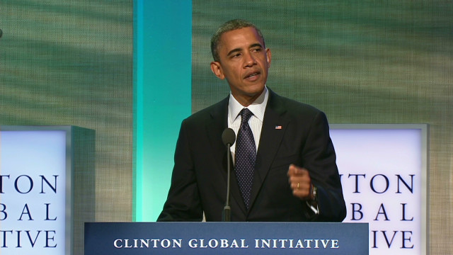 Obama on human trafficking