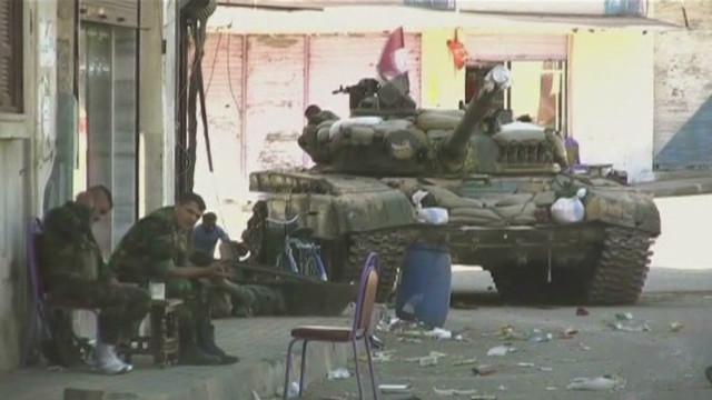 The hidden front lines in Homs