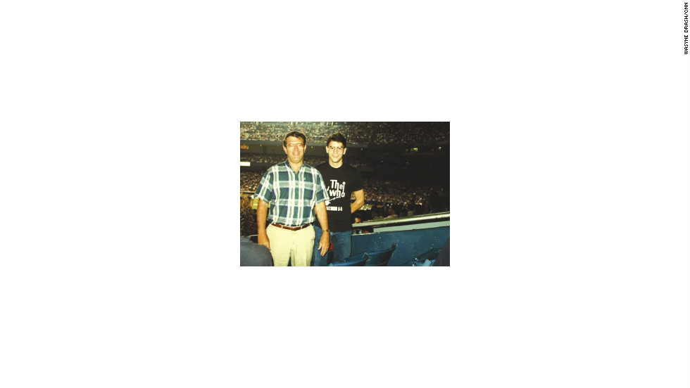 Wayne Drash and his father went on their first mancation on June 12, 1989, when they attended a Yankees-Red Sox game at Yankee Stadium.