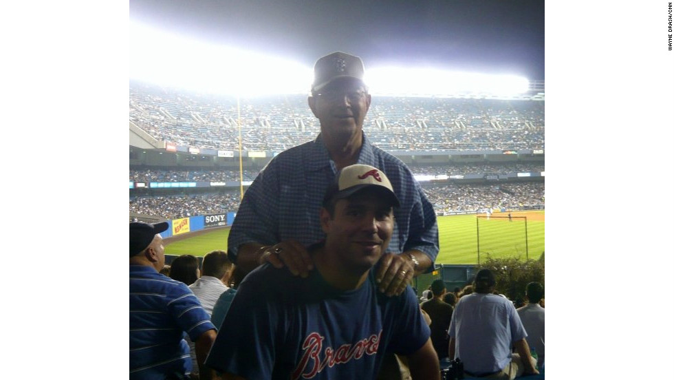 Wayne Drash and his dad returned to Yankee Stadium in 2008 before the old ballpark was closed. A few months later, Drash's father died of cancer on June 12, 2009, 20 years to the date of their first mancation.