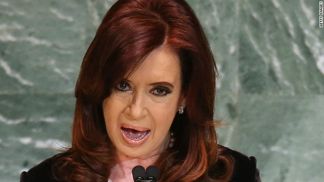 """Argentinian President Cristina Fernández said the country would continue to honour its commitments """"as befits a country which has recovered its self-esteem""""."""