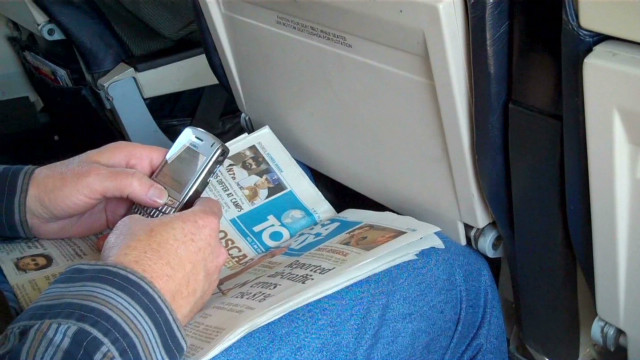 2012: Some planes allow cell phones