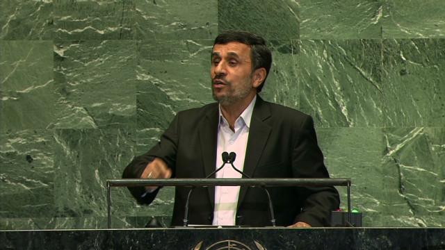 Ahmadinejad's intimidation allegation