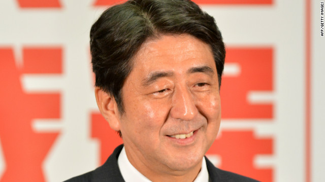 Abe gets second chance as Japan PM