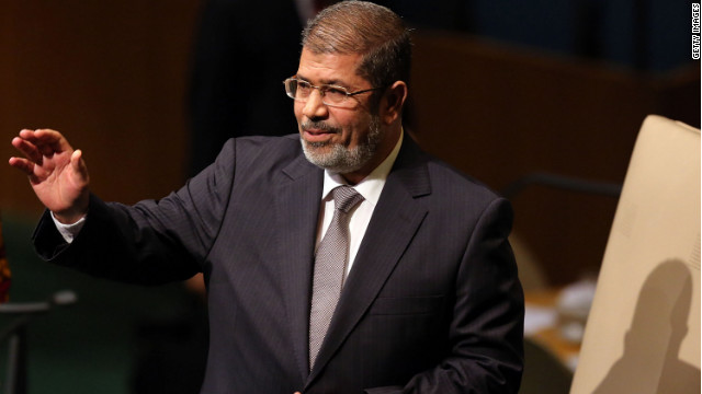 Egypt's President Morsy said he would pardon protesters arrested or jailed during the uprising that led to Mubarak's ouster.