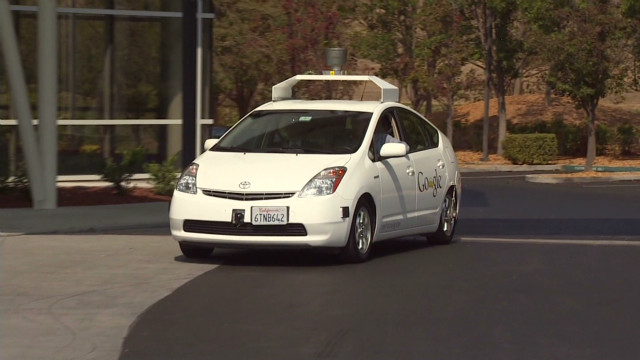 Driverless car now legal in California
