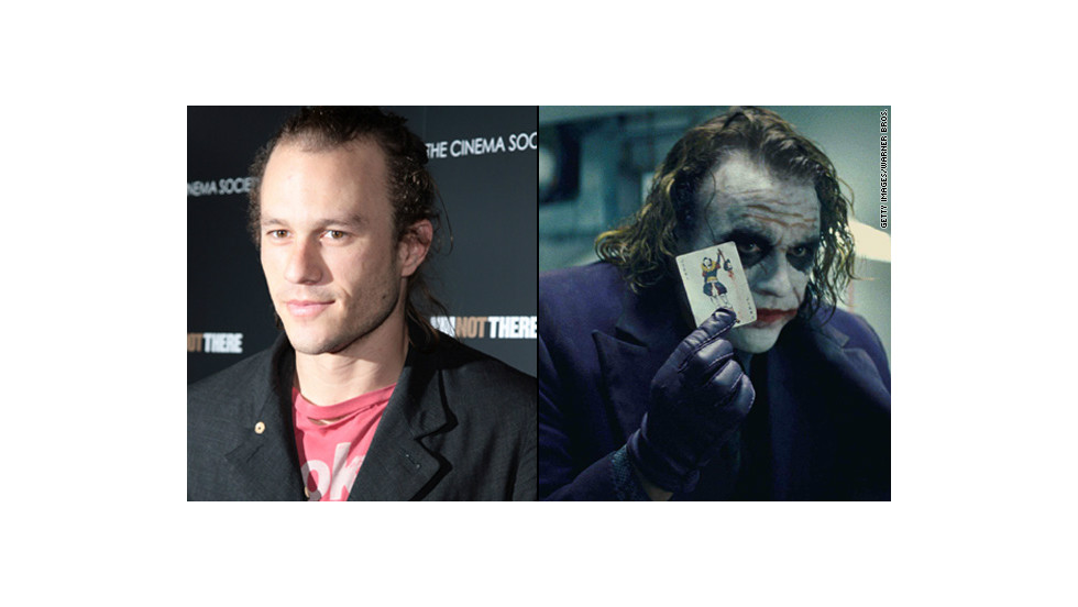 "Heath Ledger's Joker was thrillingly unhinged in 2008's ""The Dark Knight,"" and the makeup job was part of the package. Both the actor and the makeup team were nominated for Oscars, but it was Ledger who was honored posthumously with the award."