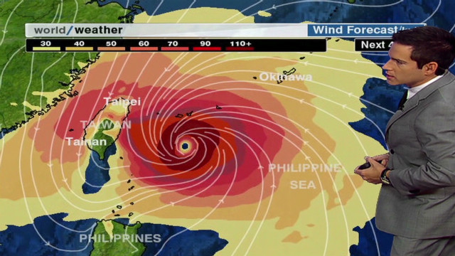 Typhoon Jelawat to impact Taiwan, Japan