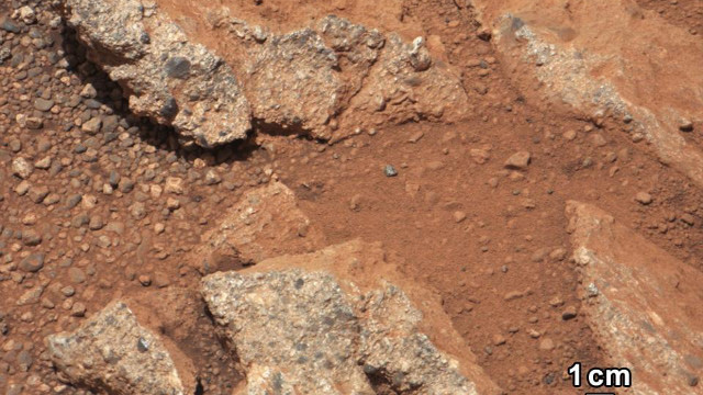 Rocks on Mars suggest water existed