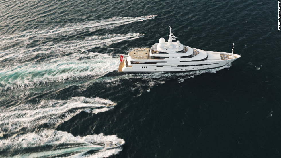 "According Alex Flemming, CEO of Marine Pegaso, the yacht's management company, anybody can rent a superyacht in the south of France, drink champagne and have a lovely time but, he says, ""suddenly people are going: 'Hang on a second, I can go somewhere and do some good.'"""