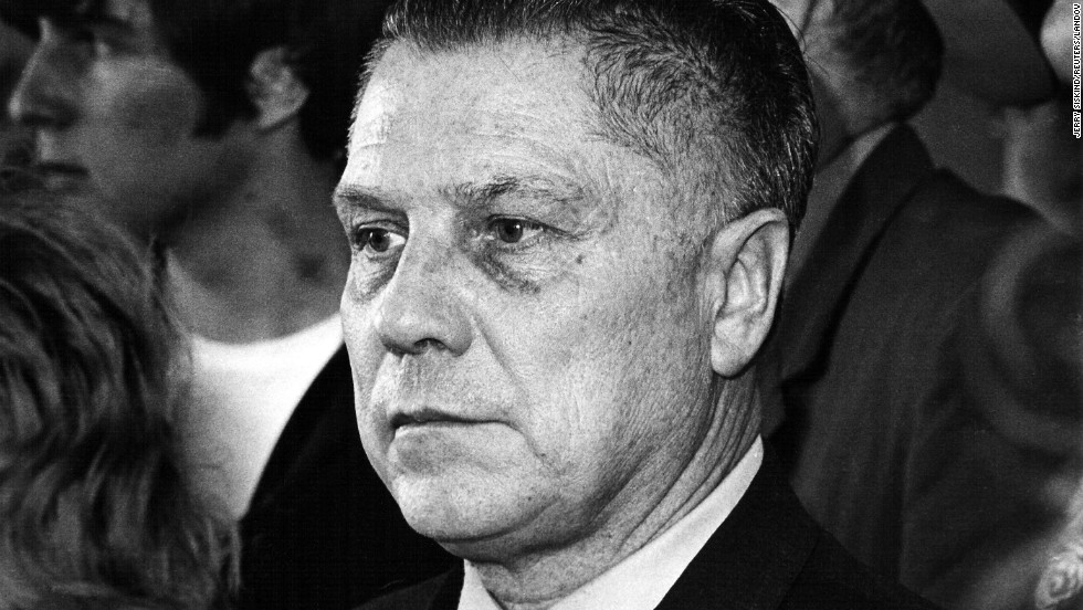 "<a href=""http://www.cnn.com/2012/09/26/us/michigan-jimmy-hoffa-search"">Union leader and organized crime boss Jimmy Hoffa</a> disappeared from a restaurant parking lot in a Detroit suburb in 1975 and was declared legally dead in 1982. In 2001, the FBI linked Hoffa to a car that was suspected of being used in his disappearance. In 2004, authorities searched a Detroit home to no avail. In 2006, the feds razed a horse barn in Michigan, and last year they drilled at a home in Roseville, outside Detroit. No leads have yielded a body and the infamous figure's final resting place remains famously unknown."