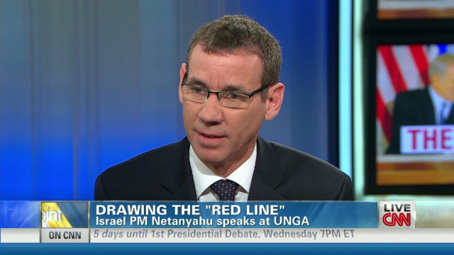 Why is Israel demanding a 'red line'?