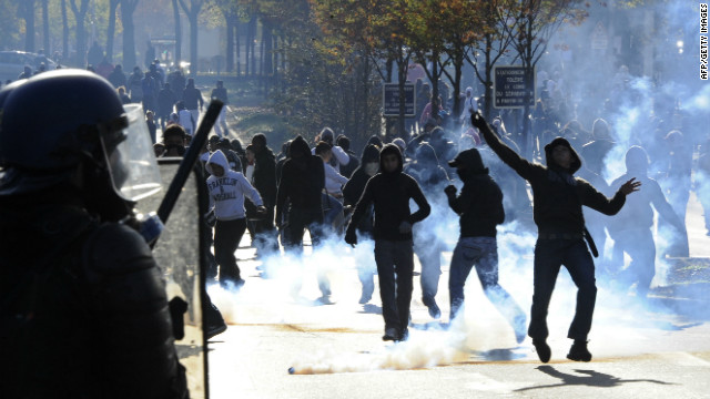 The deprived suburbs of Paris and France's other major cities have been the scene of riots in recent years.