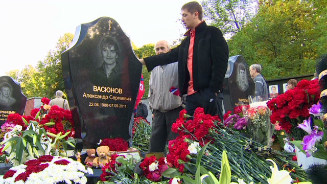 Russian hockey team remembered
