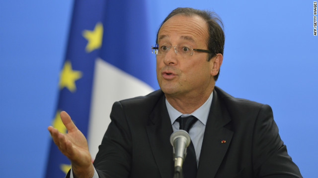 The 2013 budget is viewed as a test of confidence for French President Francois Hollande and his Socialist government.