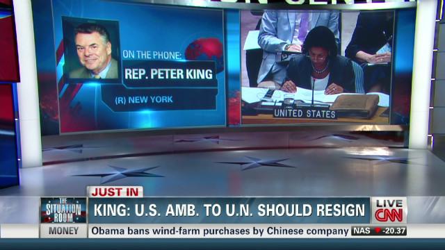 Rep. King: U.S. Amb. to U.N. should resign