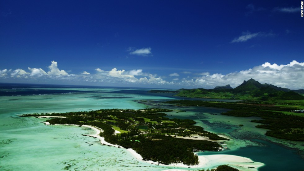 Mauritius offers luxury rather than budget travel - such as Le Touessrok Golf Course on the Isle au Cerfs.