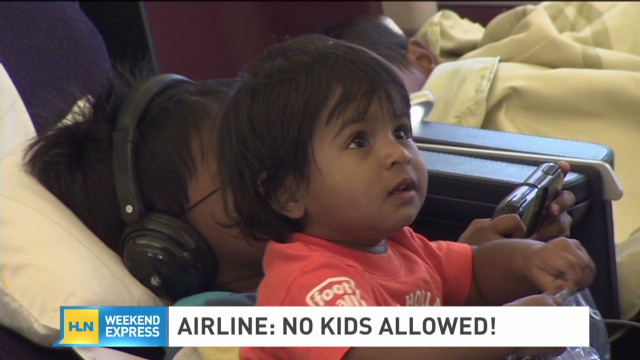 Airline offers kid-free section