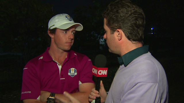 McIlroy discusses his Ryder Cup match