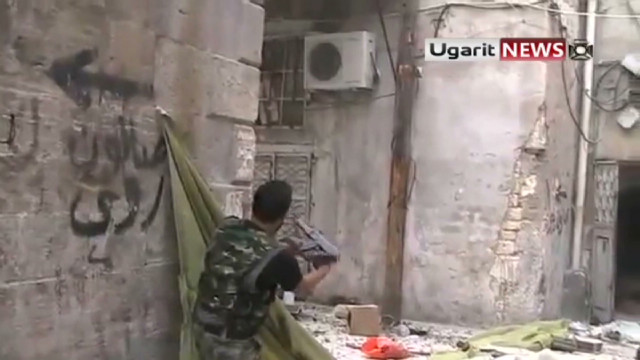 Fighting rages on in Damascus, Aleppo
