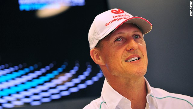 Michael Schumacher's future in Formula One is uncertain after he was reaplced by Lewis Hamilton at Mercedes