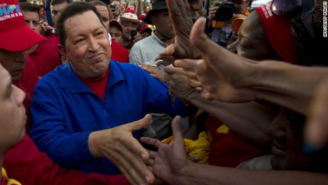 Hugo Chavez looks to change his image