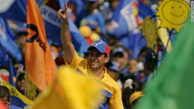 Capriles battles 'too rich' image