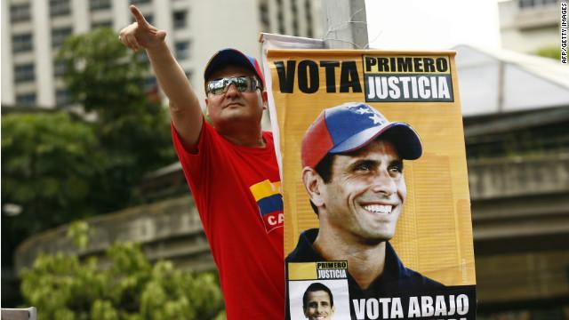 Can Capriles beat Chavez?
