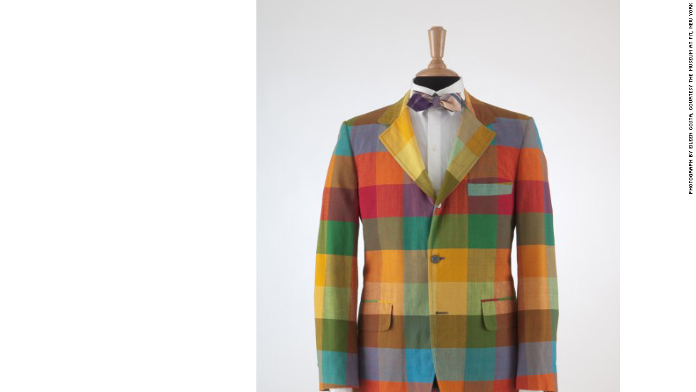 "This plaid madras jacket, circa 1970, comes from ""Ivy Style,"" a special exhibition September 14 through January 5, 2013, celebrating the ""Ivy League look"" that was actually cutting-edge when it debuted in the early 20th century on prestigious U.S. college campuses."