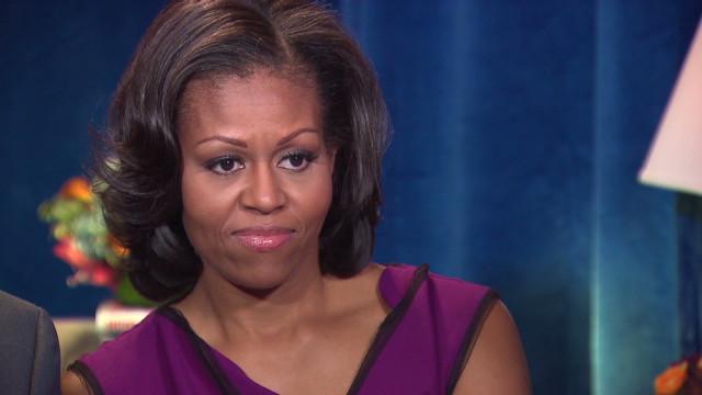 Michelle Obama: Debates make me nervous