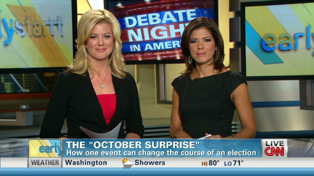The power of the 'October Surprise'