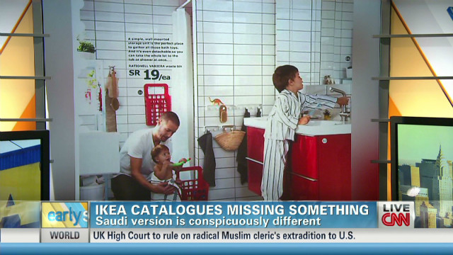 IKEA airbrushes Saudi version of catalog