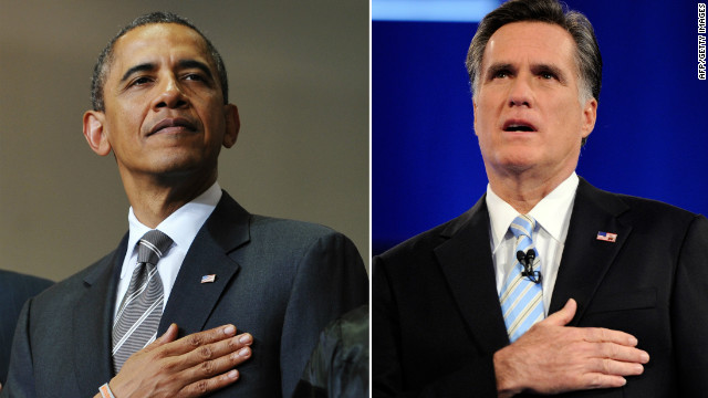 President Barack Obama and Republican candidate Mitt Romney are set to battle it out for the keys to the White House in U.S. swing states