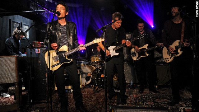 "Jakob Dylan, left, and the Wallflowers are back with a new album, ""Glad All Over."""
