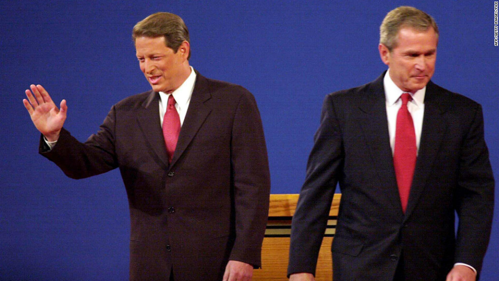 a history of the presidental debate in 2000 al gore vs george w bush The united states presidential election of 2000 was a contest between republican candidate george w bush, then-governor of texas and son of former president george h w bush (1989-1993), and democratic candidate al gore, then-vice president bill clinton, the incumbent president, was vacating.