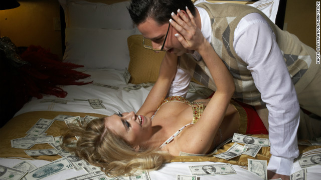 One study found that money bought more sexual partners, but it didn't necessarily buy more sex.