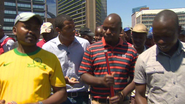 Why are South African truckers striking?
