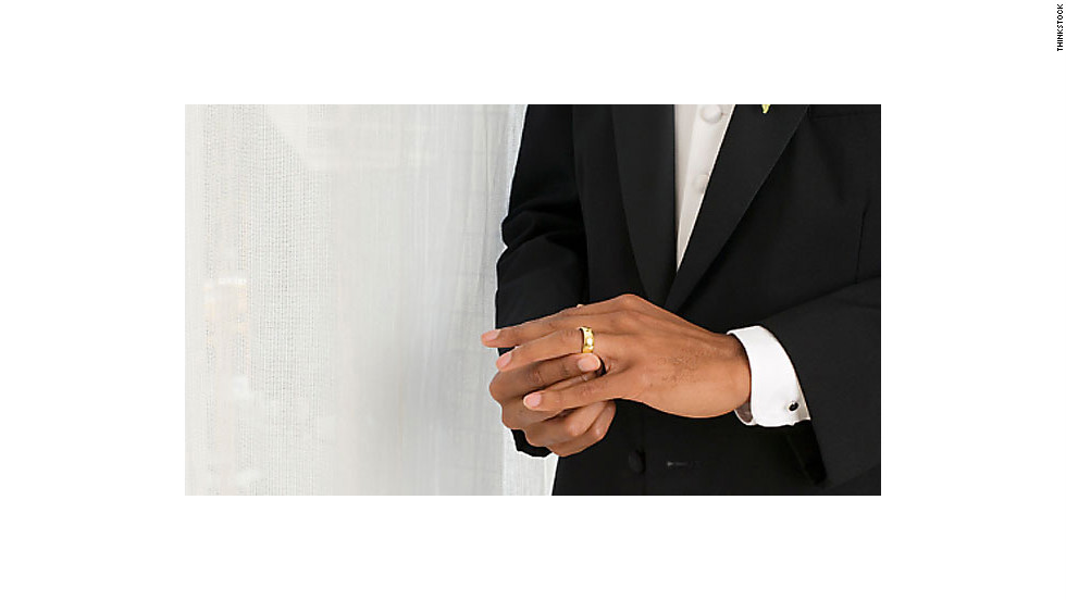 """""""My husband's missing wedding band. I found it in the door behind the condiments."""" —Nicole Jeppesen<a href=""""http://www.realsimple.com/home-organizing/organizing/organization-secrets-00000000028133/index.html"""" target=""""_blank"""">Real Simple: 4 Super-Organized Women Spill Their Secrets</a>"""