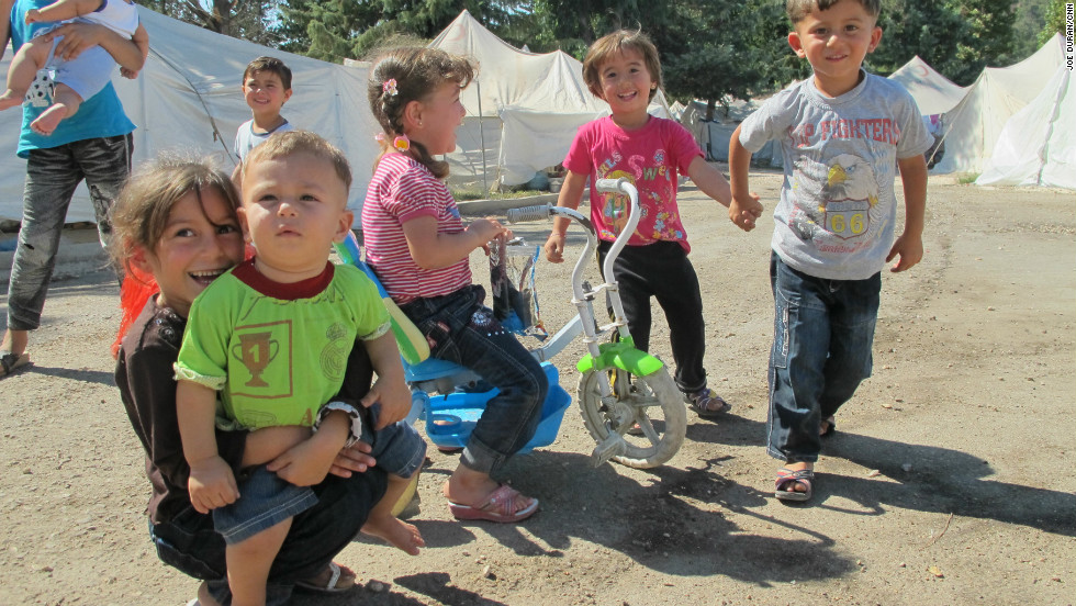 The United Nations refugee agency said that the number of Syrian refugees in neighboring countries has more than tripled since June to over 300,000