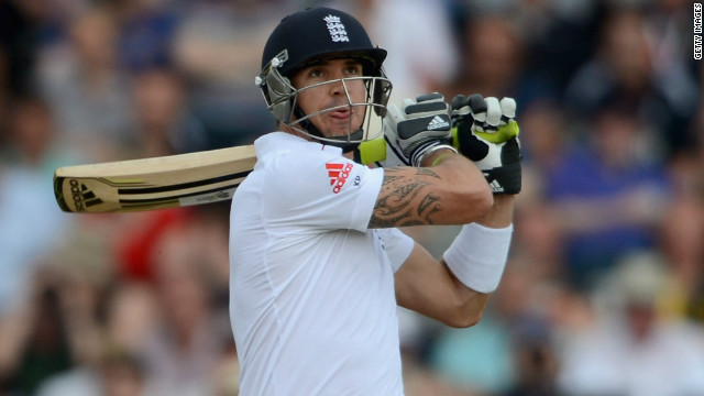 South African-born Kevin Pietersen made his England Test debut against Australia in 2005.