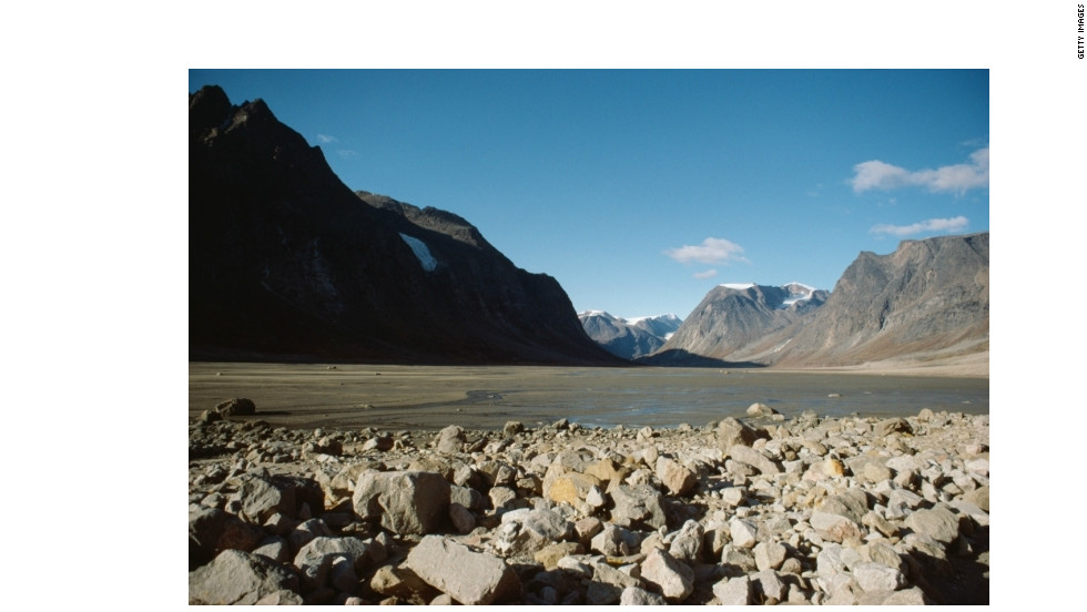 "Auyuittuq National Park, home to Mount Asgard, was the site of Bond's BASE-jumping in ""Never Say Never Again."""