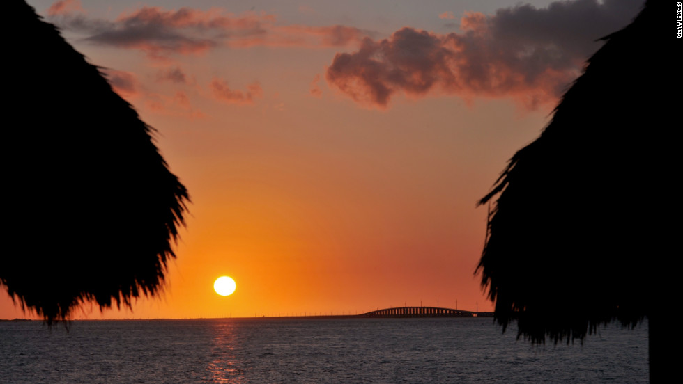"The Seven Mile Bridge in the Florida Keys pops up throughout 1989's ""Licence to Kill."""