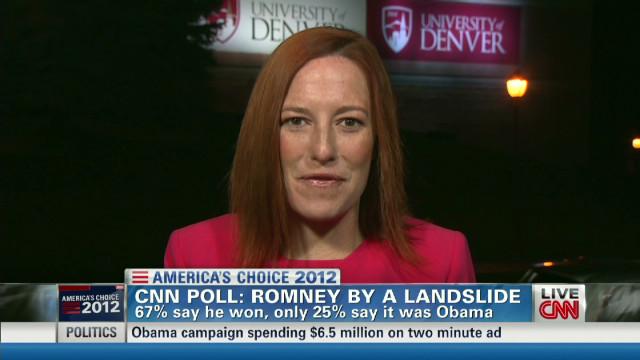 Psaki calls Romney 'Attacker-in-chief'