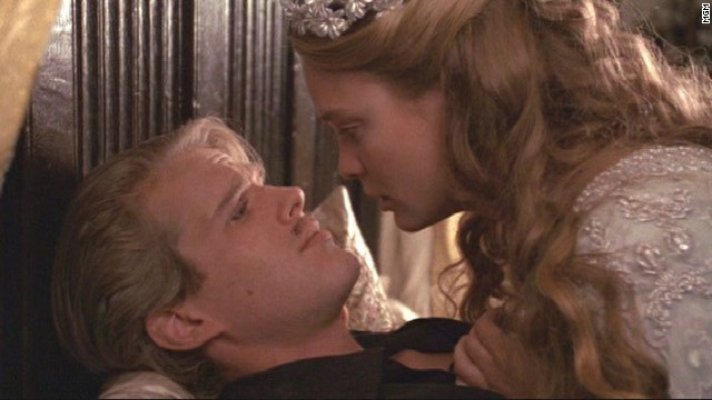 "Cary Elwes and Robin Wright star in ""The Princess Bride."""